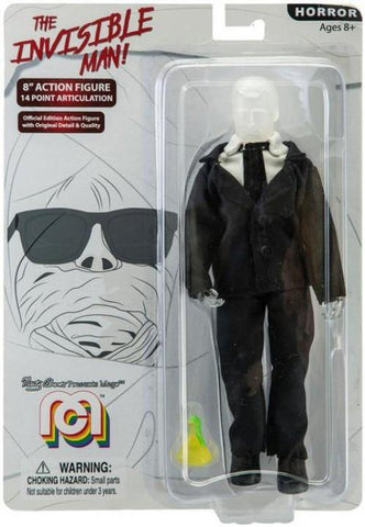 "Mego Horror The Invisible Man 8"" Action Figure"