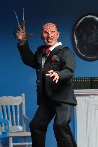 "NECA - Nightmare on Elm Street - Tuxedo Freddy 8"" Clothed Action Figure"