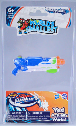 World's Smallest Super Soaker Barrage