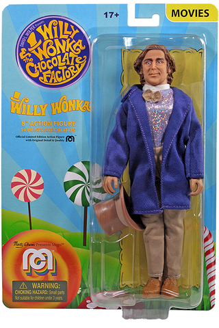 "Mego Movies Wave 10 - Willy Wonka 8"" Action Figure"