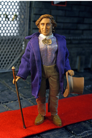 "Mego Movies Wave 9 - Willy Wonka 8"" Action Figure (Pre-Order Ships January)"
