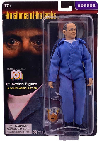 "Mego Horror Wave 8 - Silence Of The Lambs - Hannibal Lecter 8"" Action Figure"