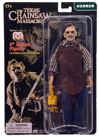 "Mego Horror Wave 8 - Texas Chain Saw Massacre - Leatherface 8"" Action Figure"