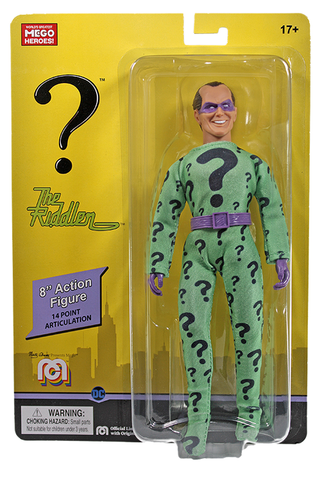 "Mego DC Wave 12 - Riddler 8"" Action Figure (Pre-Order Ships March/April)"