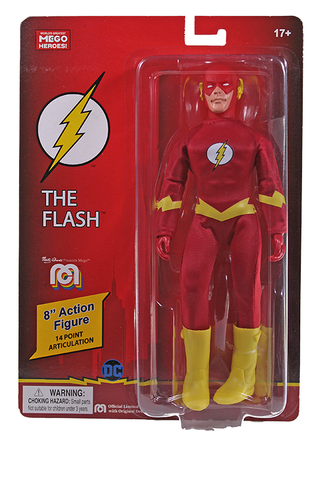 "Mego DC Wave 12 - Flash 8"" Action Figure (Pre-Order Ships March/April)"