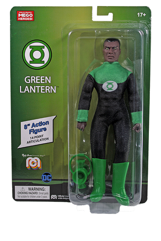 "Mego DC Wave 12 - Green Lantern 8"" Action Figure (Pre-Order Ships March/April)"
