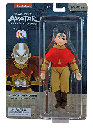"Mego Movies Wave 12 - Avatar: The Last Air Bender 8"" Action Figure (Pre-Order Ships March/April)"