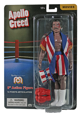 "Mego Movies Wave 12 - Apollo Creed 8"" Action Figure (Pre-Order Ships March/April)"