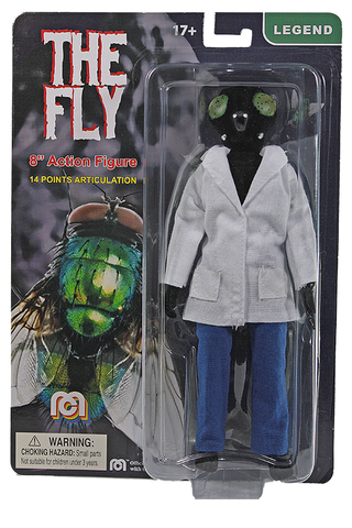 "Mego Legends Wave 12 - The Fly (Flocked) 8"" Action Figure (Pre-Order Ships March/April)"