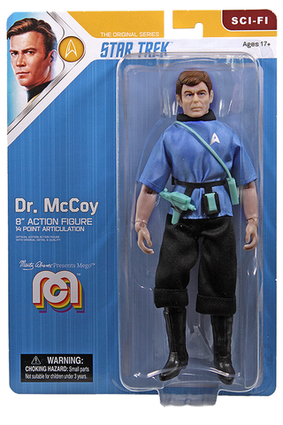 "Mego Star Trek Wave 12 - McCoy 8"" Action Figure (Pre-Order Ships March/April)"