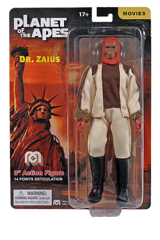 "Mego Planet of The Apes Wave 12 - Dr Zaius 8"" Action Figure (Pre-Order Ships March/April)"