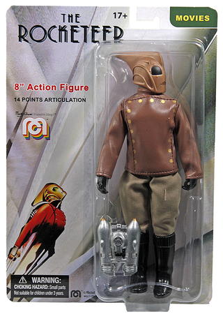 "Mego Movies Wave 12 - Rocketeer 8"" Action Figure (Pre-Order Ships March/April)"