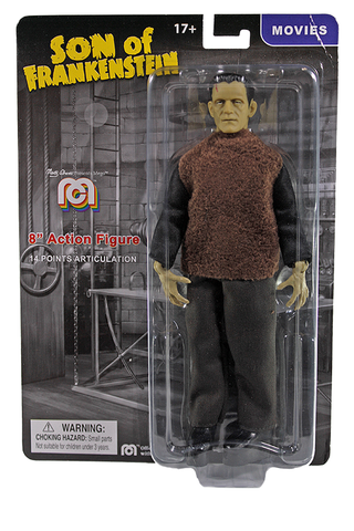 "Mego Movies Wave 12 - Universal Monsters Son of Frankenstein 8"" Action Figure (Pre-Order Ships March/April)"