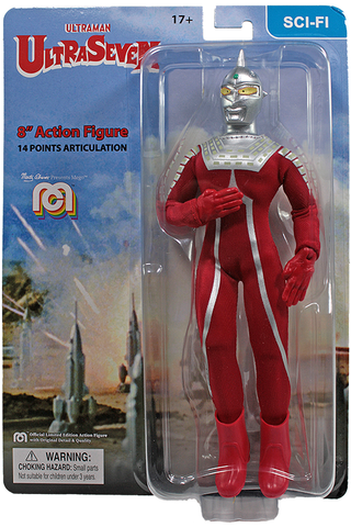 "Mego Sci-Fi Wave 11 - Ultraseven 8"" Action Figure"
