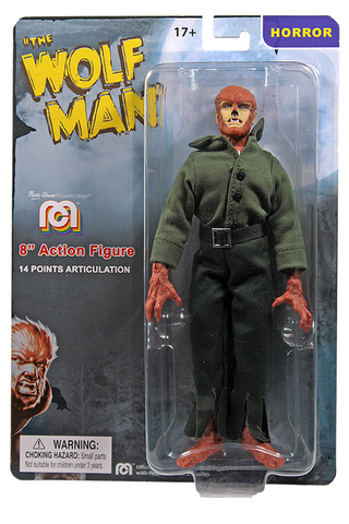 "Mego Horror Wave 12 - Universal Monsters Wolfman 8"" Action Figure (Pre-Order Ships March/April)"