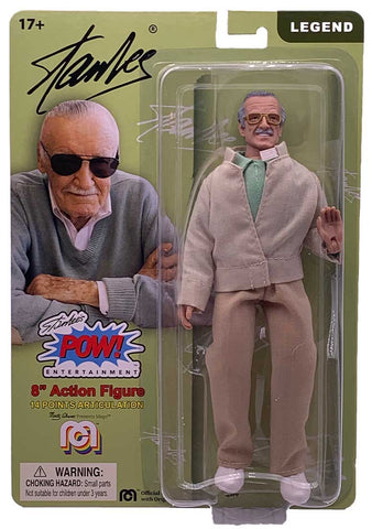 "Mego Wave 8 - Stan Lee 8"" Action Figure"