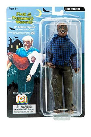 "Mego Horror The Face Of The Screaming Werewolf 8"" Action Figure"