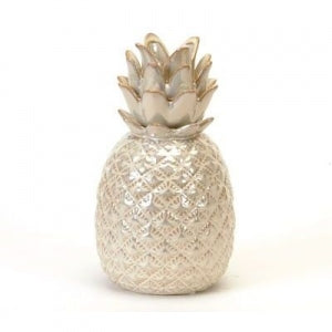 Gray Pineapple Candle holder