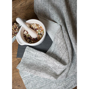 Gray Ricardo Tea Towel