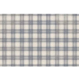 Dark Gray Buffalo Checked 035268 Floor Mat