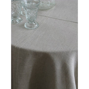 Dark Gray Stockholm Round Tablecloth