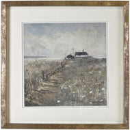 Framed Print -  A House in the Mist