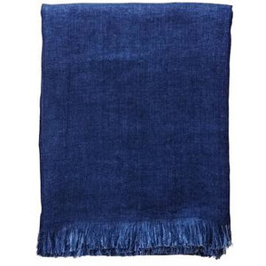Midnight Blue Corsica Throw