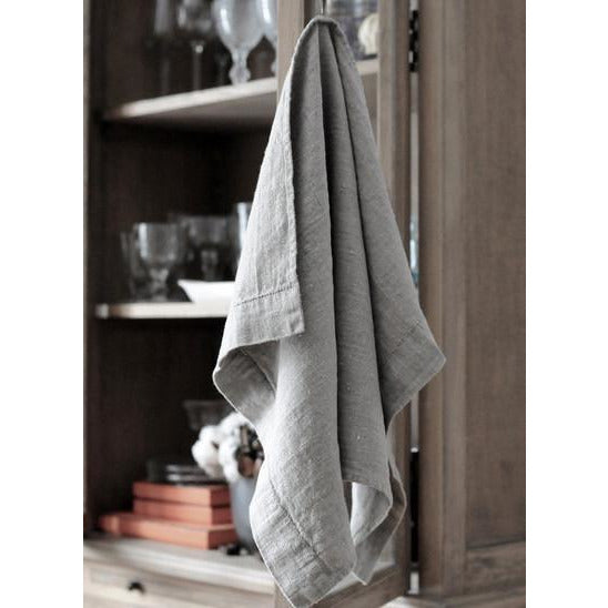 Dim Gray Sebastian Tea Towel
