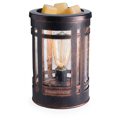 Wheat Old World Edison Bulb Wax Melter & Candle Warmer