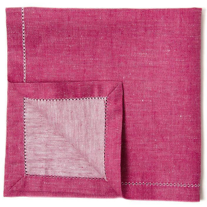 Maroon French Melody Napkins (Set of 4)