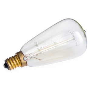 Beige EDISON REPLACEMENT BULB