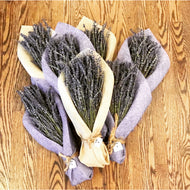 Dim Gray Lavender Bouquet