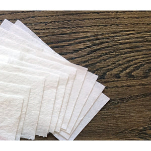 Lavender Biodegradable Cellulose Filters for Linen Face Mask