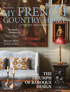 Saddle Brown My French Country Home Magazine  Jan/Feb