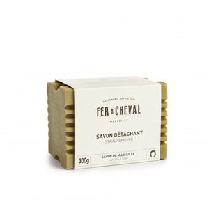 Beige Fer à Cheval Stain Remover Soap Olive Oil 300g