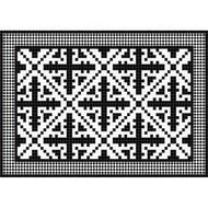 Black Marquetry 023775 Placemat