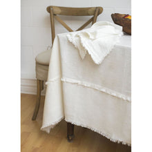 Load image into Gallery viewer, Gray Bilbao Tablecloth White - Custom Order