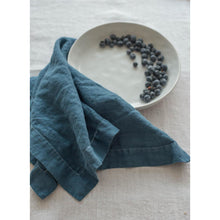 Load image into Gallery viewer, Dark Slate Gray Tessa Napkins (Set of 4)