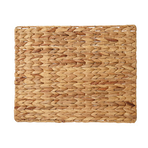 White Palma Placemat - Water Hyacinth - Rectangle