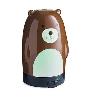 Dark Olive Green Diffuser - Bear
