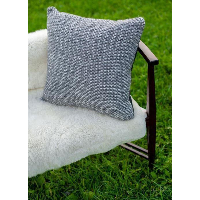 Slate Gray Robson Pillow Cover