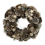 Dark Slate Gray Champagne Dreams Wreath