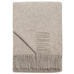 Gray Cork Throw