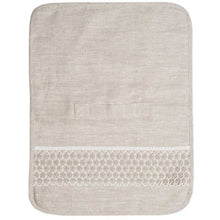 Load image into Gallery viewer, Gray Tanya Lace Travel Toiletry Bag