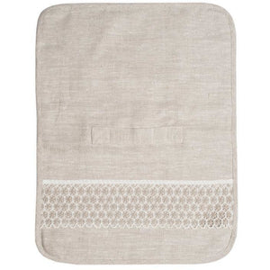 Gray Tanya Lace Travel Toiletry Bag