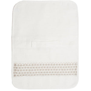 Beige Tanya Lace Travel Toiletry Bag