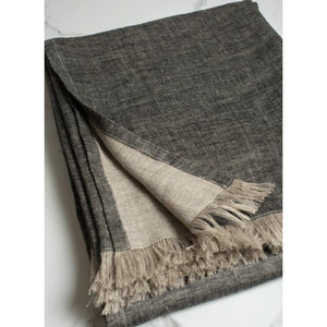 Dark Slate Gray Corsica Throw