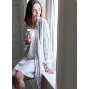 Dim Gray Parisian Bathrobe