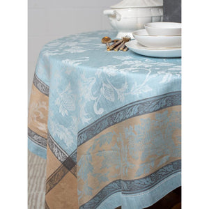 Light Steel Blue Versailles Tablecloth