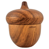 White Diffuser Light Wooden Grain - Acorn